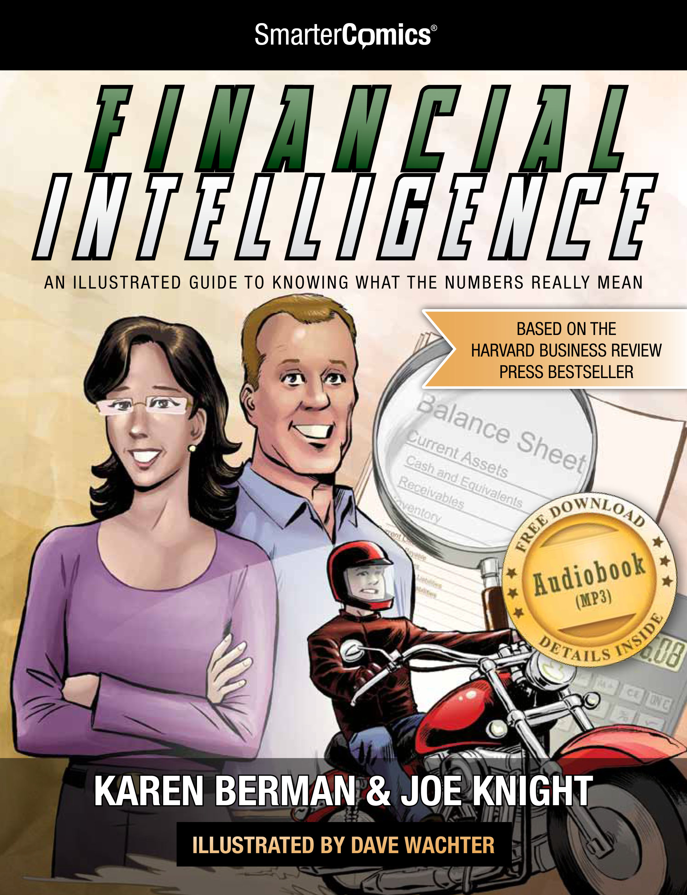 Find out more about the Financial Intelligence Comic book
