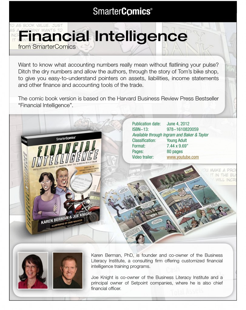 Financial Intelligence from SmarterComics pg 1