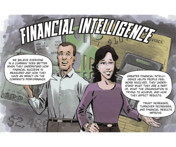 Financial Intelligence Comic Exerpt