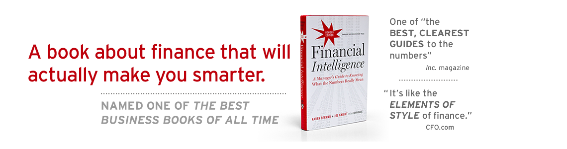 Financial Intelligence Books & Comics