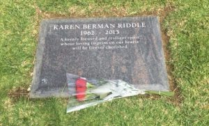 Karen Headstone