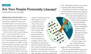 Financial Intelligence Test