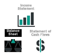 Financial Training Icons